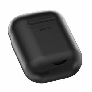 Husa de incarcare fara fir Baseus Wireless Charger for AirPods (Black)