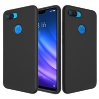 Husa Screen Geeks Tpu Touch Xiaomi Mi 8 Lite (Black)