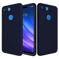 Husa Screen Geeks Tpu Touch Xiaomi Mi 8 Lite (Blue)