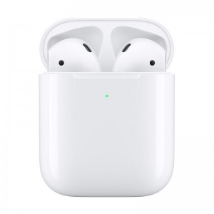 Casti Apple AirPods Gen 2 (Wireless Charging Case) [White]