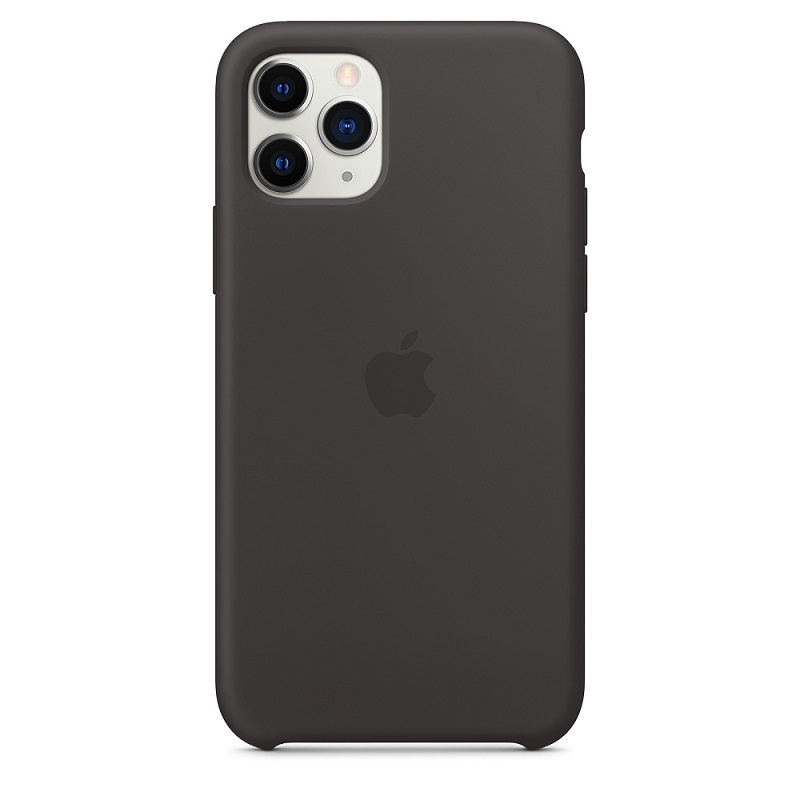 Husa Apple Original Silicone iPhone 11 Pro Max (MX002Z) [Black]