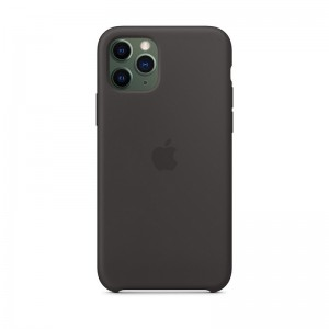 Husa Apple Original Silicone iPhone 11 Pro (MWYN2Z) [Black]