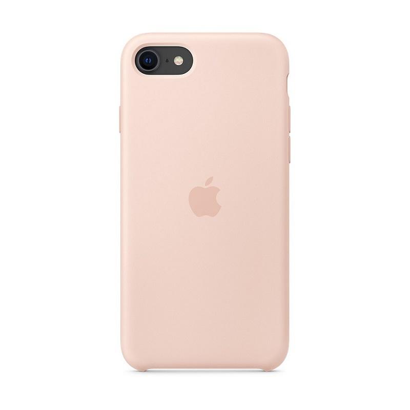 Husa Apple Original Silicone iPhone 7 (MMX12Z) [Pink-Sand]