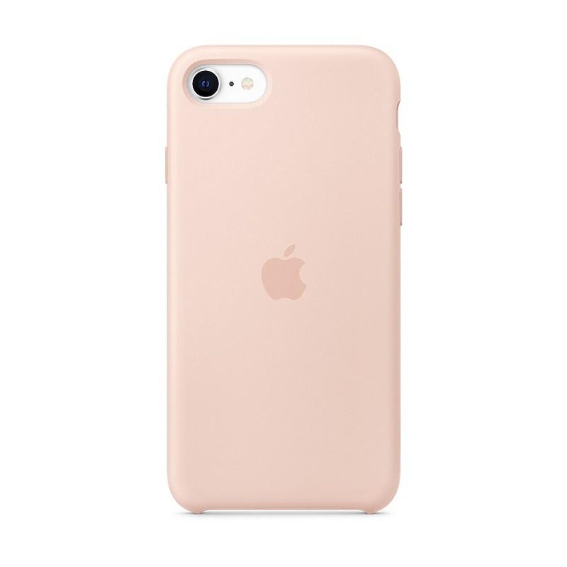 Husa Apple Original Silicone iPhone SE 2020 (MMX12Z) [Pink-Sand]