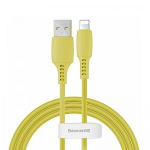 Кабель Baseus Colourful Lightning (1.2м) [Yellow]