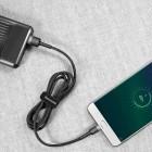Cablu Baseus Cafule Micro USB (3m) [Black-Gray]