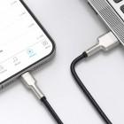 Cablu Baseus Cafule Series Metal Lightning (2m) [Black]
