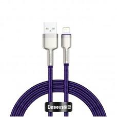 Cablu Baseus Cafule Series Metal Lightning (1m) [Purple]