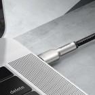 Cablu Baseus Cafule Series Metal Type-C to Type-C 100W (2m) [Black]