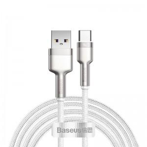 Кабель Baseus Cafule Series Metal Type-C 40W (1м) [White]