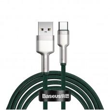 Кабель Baseus Cafule Series Metal Type-C 40W (1м) [Green]