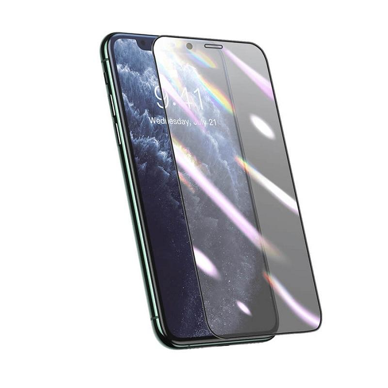 Sticla protectoare Baseus Curved Composite Film Apple iPhone 11 [Black]