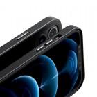 Husa Baseus Original Magnetic Leather Apple iPhone 12 Pro [Black]