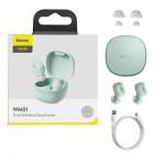 Casti wireless Baseus Encok WM01 TWS [Green]