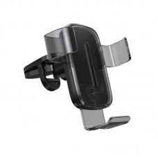 Suport auto Baseus Explorer (Wireless Charger 15W) [Black]
