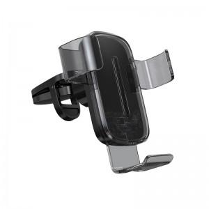Авто держатель Baseus Explorer (Wireless Charger 15W) [Black]