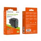 Incarcator de retea Borofone BA46A Premium (PD+QC3.0) [Black]