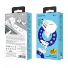 Incarcator de retea Borofone BA51 Easy Removable Pin (2.4A) [White]