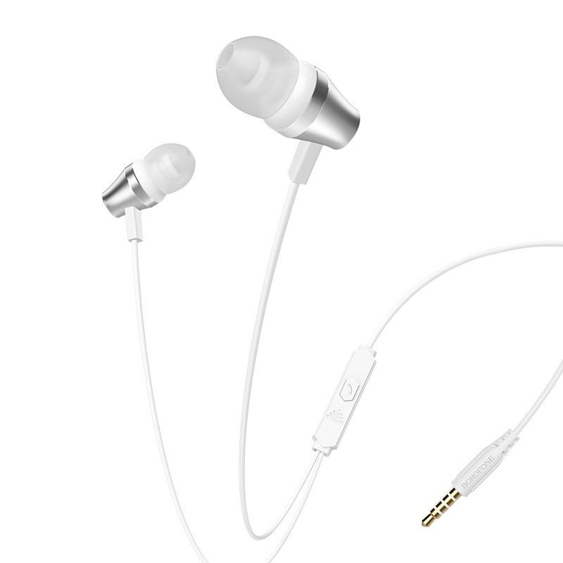 Casti Borofone BM38 Bright sound [White]