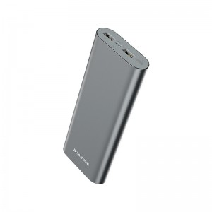 Power Bank Borofone BT19B Universal (20000 mAh) [Gray]
