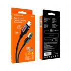 Cablu Borofone BU14 Heroic Type-C (1.2m) [Black]