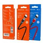 Cablu Borofone BU18 Skill Magnetic Micro USB (1.2m) [Red]