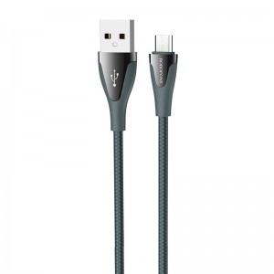 Cablu Borofone BU20 Advantageous Micro-USB (1.2m) [Dark-Green]