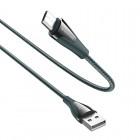 Кабель Borofone BU20 Advantageous Micro-USB (1.2м) [Dark-Green]
