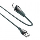 Cablu Borofone BU20 Advantageous Micro-USB (1.2m) [Dark-Green]