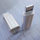 Adapter Borofone BV5 Micro-USB to Lightning [Silver]