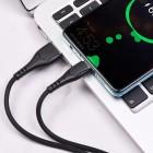 Cablu Borofone BX37 Wieldy Type-C (1m) [Black]