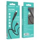 Cablu Borofone BX46 Rush Micro USB (1m) [Black]