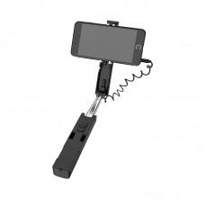 Selfie Stick Borofone BY3 (3.5mm wired) [Black]