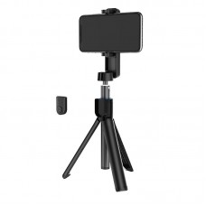Selfie Stick Borofone BY5 Leo (Wireless Tripod) [Black]