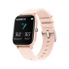 Fitness Watch CLM P8 Pro (с измерением температуры) [Rose-Gold]