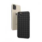 Husa Devia Woven Pattern Apple iPhone 11 Pro Max [Black]