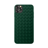 Husa Devia Woven Pattern Apple iPhone 11 Pro Max [Green]