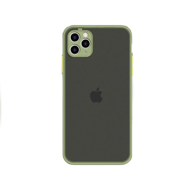 Husa Goospery Camera Protect Apple iPhone 11 Pro Max [Light-Green]
