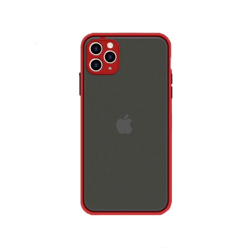 Husa Goospery Camera Protect Apple iPhone 11 Pro Max [Red]