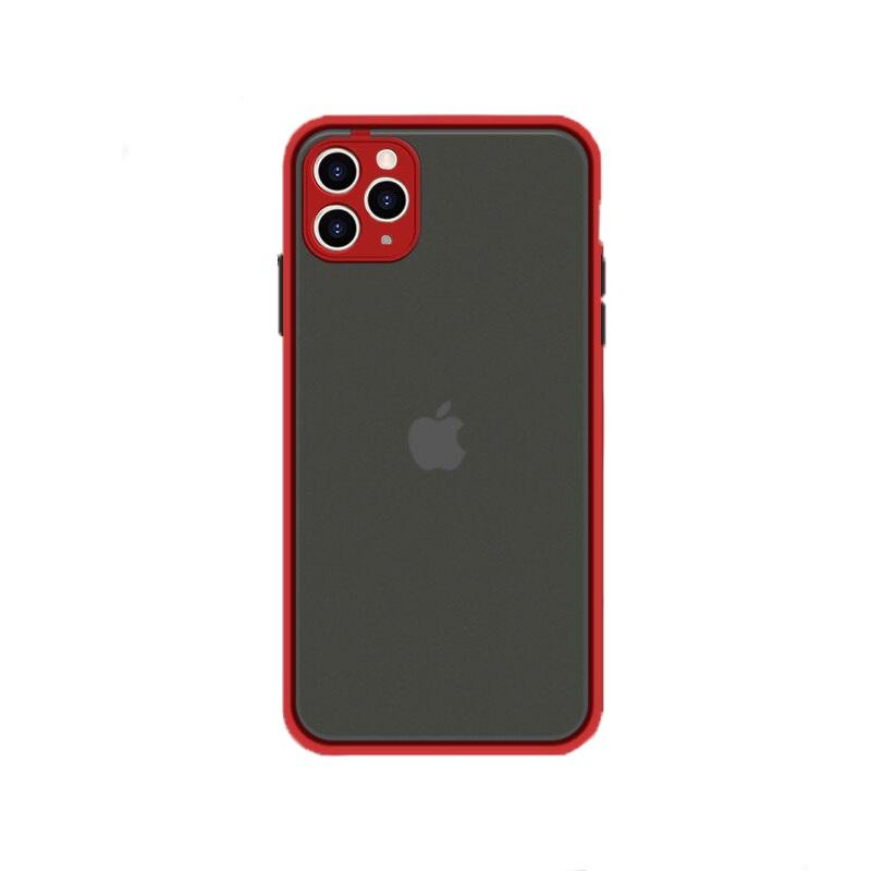 Husa Goospery Camera Protect Apple iPhone 12 Pro [Red]