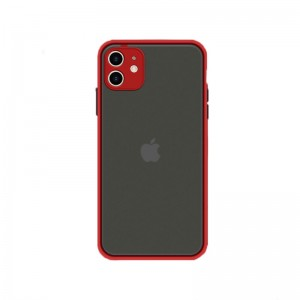 Husa Goospery Camera Protect Apple iPhone 12 [Red]