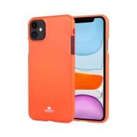 Husa Goospery Mercury Fluorescence Apple iPhone 11 [Orange]