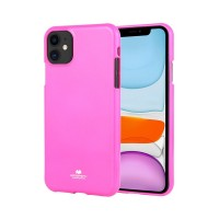 Husa Goospery Mercury Fluorescence Apple iPhone 11 [Hot-Pink]