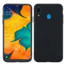Husa Goospery Liquid Silicone Samsung Galaxy A20e [Black]