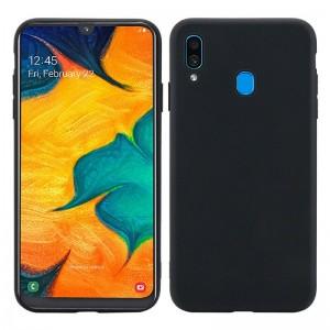 Чехол Goospery Liquid Silicone Samsung Galaxy A20e [Black]