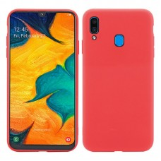 Husa Goospery Liquid Silicone Samsung Galaxy A20e [Red]