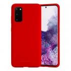 Husa Goospery Liquid Silicone Samsung Galaxy S20 [Red]