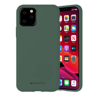 Husa Goospery Mercury Liquid Silicone Apple iPhone 12 Pro [Green]