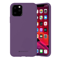 Husa Goospery Mercury Liquid Silicone Apple iPhone 12 Pro Max [Purple]