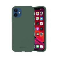 Husa Goospery Mercury Liquid Silicone Apple iPhone 12 mini [Green]